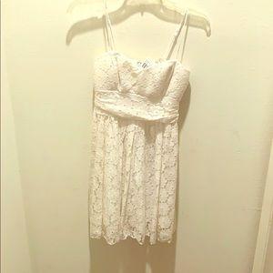 NWT Speechless white crochet sundress